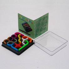 Newest Type Crazy Curves Magic Cube Puzzle Stickerless Game Cubes Educational Kid Toys Cubo Magico Child Grownups Brain Teaser(China)