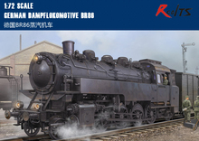 RealTS Hobby Boss model 82914 1/72 German Dampflokomotive BR86 plastic model kit hobbyboss trumpeter(China)