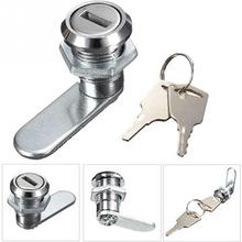 Household Door Hardware Cam Lock Desk Drawer Lock with 2 Keys for Arcade Cupboard Mailbox File Cabinet Lock