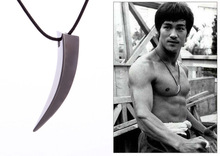 2017 Punk Fashion Brave Men Stainless Steel Wolf Tooth Spike Pendant Necklace Men Personality  Necklace Jewelry