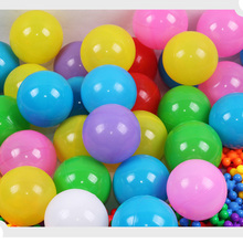 10pcs Eco-Friendly Plastic Ball Pit Balls Swim Ocean Wave Balls Outdoor Play Funny Kids Children Toys(China)