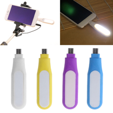 Usb Gadget Portable Mini LED Selfie Flash Fill Lamp Light For Android Samsung LG Cell Phone