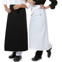 Bust Bib Bistro Apron Chef Men's Working Aprons Custom Catering Restaurant Kitchen Overall Black White Design Logo Printing