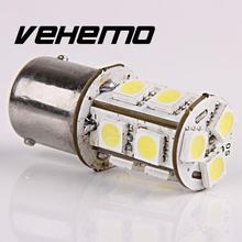 Vehemo New 1156 R10W BA15S 245 1129 13 LED 5050 SMD 6000K P21W White Car AUTO Tail Turn Signal Light Bulb 12V(China)
