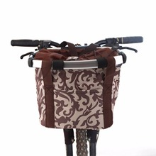 Wholesale price Bicycle Basket Bicycle Basket Dog Pets Carriers Supplier Bike Cat Seat Shopping Stuff Baskets