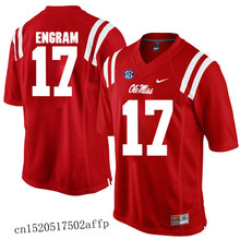 New style Nike 2017 Ole Miss Rebels Evan Engram 17 Boxing Jersey Basketballly Jersey Eric Swinney 24 Eli Manning 10(China)
