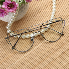New Arrival Big Promotion Fashion Hot Big Frame Anti Blue-ray Metal Optical Glasses Reading Glass Minimalist Frame Design