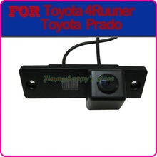 Color CCD HD car rear view camera parking rear view system for TOYOTA 4Runner LAND CRUISER PRADO 2010 night vision
