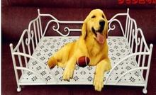 Wrought iron dog kennel. Pet Waterloo. Golden retriever dog bed. Large dogs cat litter hob dog bed(China)