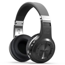 Brand Bluedio H+ Bluetooth headsets Stereo Wireless headphones Mic Micro-SD port FM Radio BT 4.1 Over-ear headphones(China)