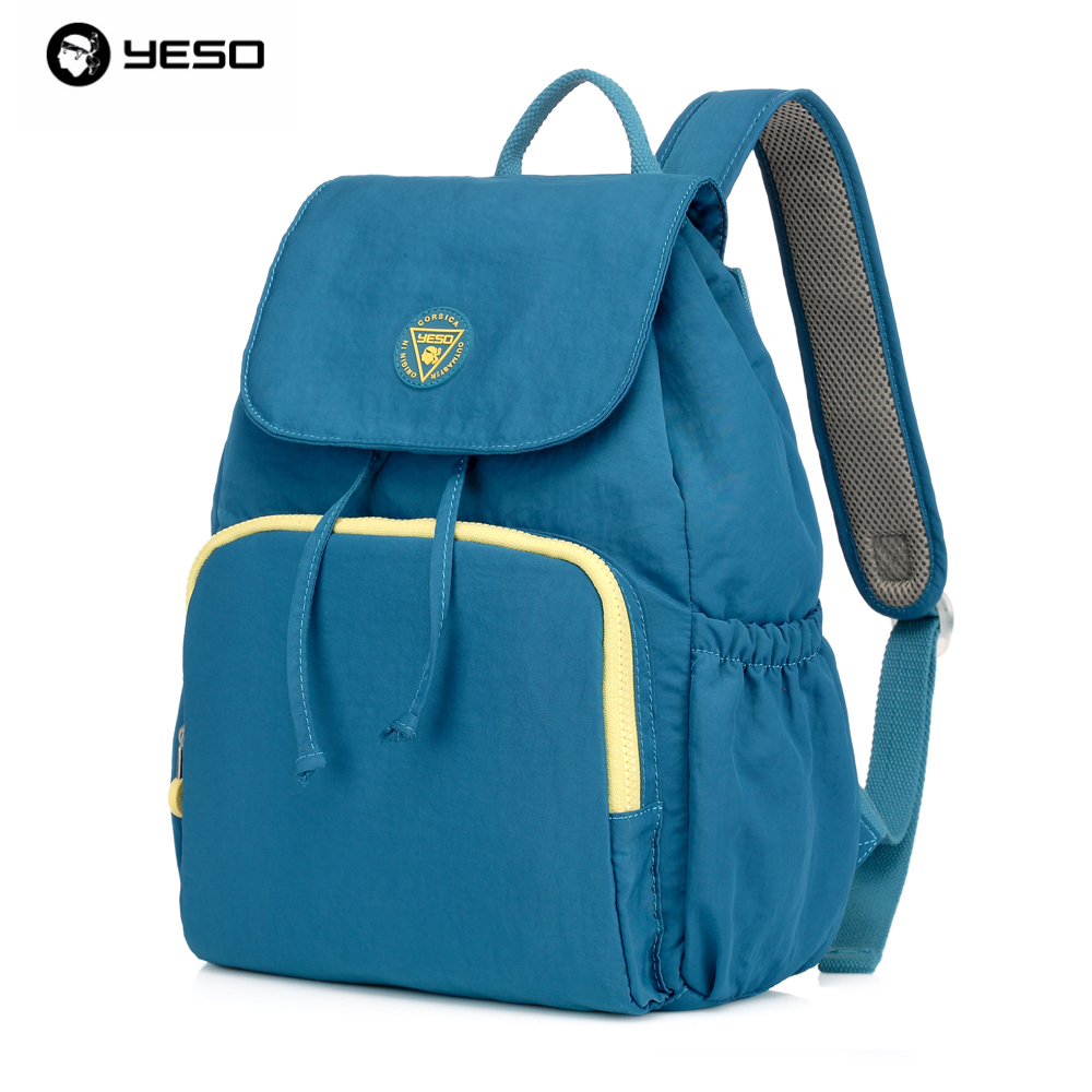 YESO Brand Korean Waterproof Nylon Backpack for Men Women Hit the Color Multifunction Package Mens College Backpacks Bags<br><br>Aliexpress