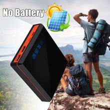 MVpower LCD Screen Power Bank 4x18650 Batteries Charger Case DIY with Lamp Camping Outdoor Travelling Powerbank Solar Panel Gift(China)