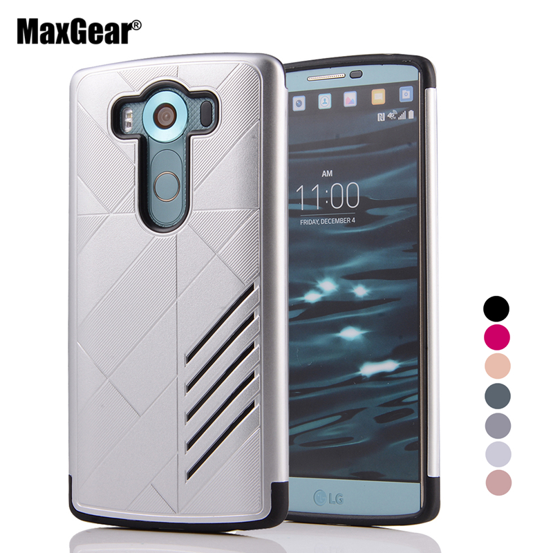Super Protect Armor Shockproof Phone Case For LG G3 G4 G5 K7 K10 V10 TPU Hard PC New Hybrid Back Cover Capa(China)