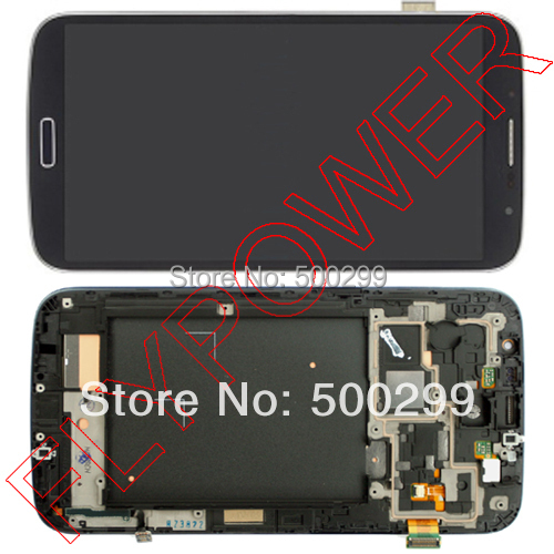 LCD display with Touch Screen Digitizer +Frame Assembly For Samsung Galaxy Grand DUOS i9082 blue color free shipping<br><br>Aliexpress