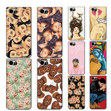 Kimoji Grid Case For Blackberry DTEK70 4.5 inch Back Cover Soft Tpu Phone Cases Covers For Blackberry Keyone (Mercury) Coque