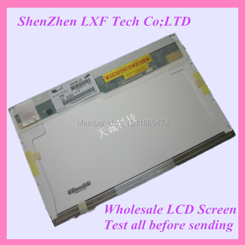 14.1 inch Laptop lcd screen  1CCFL 1280x800 WXGA LP141WX1-TL04 LP141WX1-TLE1 LP141WX1-TLE3 <br><br>Aliexpress