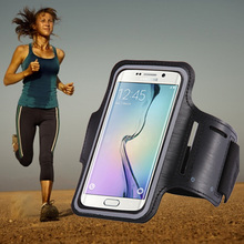 ABCTen Outdoor Climbing Running sports Cell Phone Arm Belt For Microsoft Nokia Lumia 640 XL waterproof Sport Arm Band #4(China)