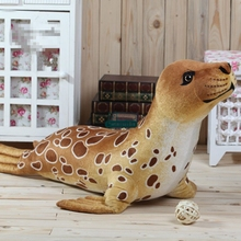 Dorimytrader New 39'' / 100cm Cute Stuffed Soft Plush Giant Simulated Animal Seal Toy 2 Colors and Gift Free Shipping DY60715(China)