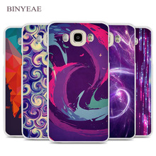 BINYEAE Dust In Purple Light Artistic Cell Phone Case Cover for Samsung Galaxy J1 J2 J3 J5 J7 C5 C7 C9 E5 E7 2016 2017 Prime