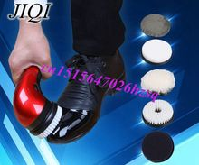 household  electric mini shoes polisher hand-held portable Leather Polishing Equipment automatic clean machine