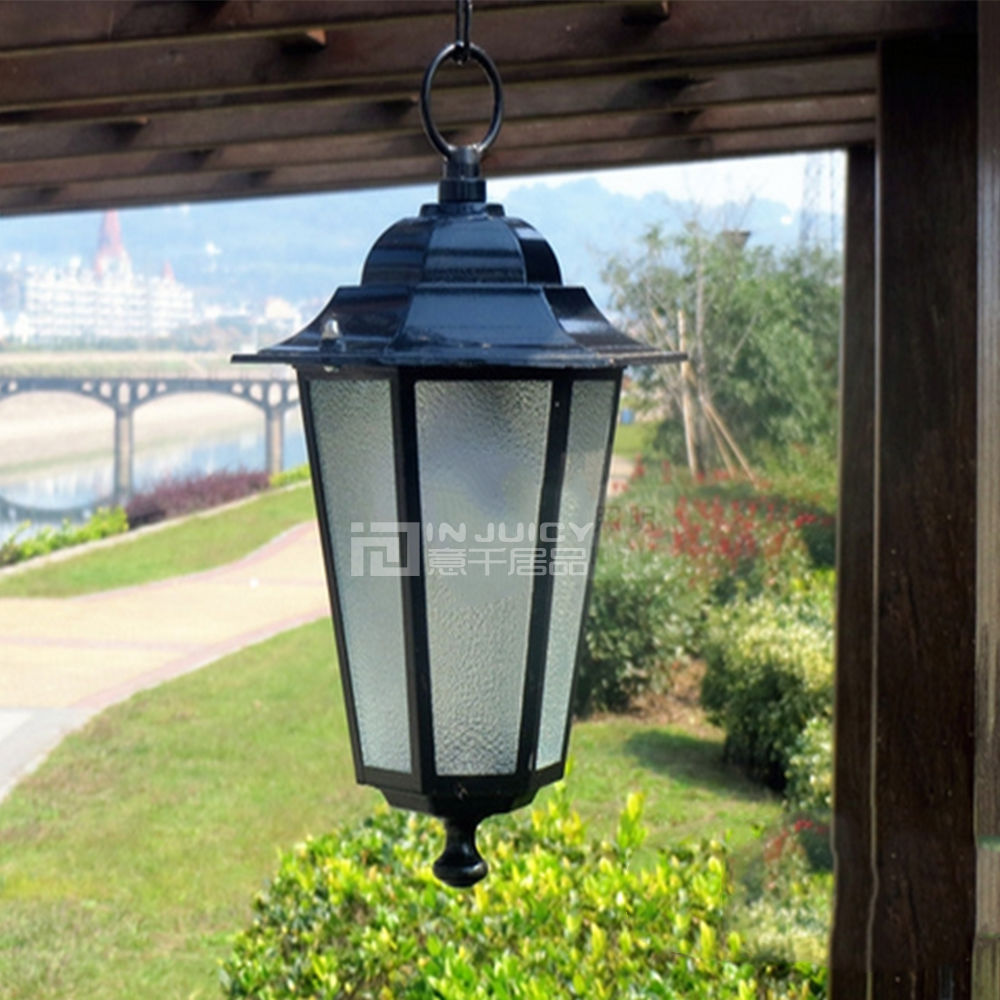 Vintage Glass Waterproof Outdoor LED Courtyard Garden Lamp Ceiling Droplight Lighting Hall Loft Corridor Decor<br><br>Aliexpress