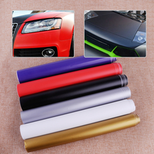 CITALL 150cmx30cm Car Auto Waterproof Matte Flat Color Vinyl Film Wrap Roll Sheets Sticker Decal Protector(China)