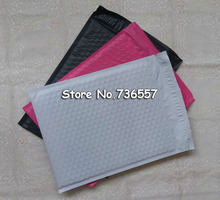 100pcs Pink Rose Red 8.5X11inch / 216X280MM Usable space Poly bubble Mailer envelopes padded Mailing Bag Self Sealing