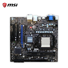MSI 785GTM-E45 Original Used Desktop Motherboard 785G Socket AM3 DDR2 8G STAT2 USB2.0 Micro ATX