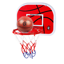 Indoor Adjustable Hanging Basketball Netball Hoop Basketball Box Mini Basketball Board For Game Children Kids Game