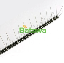 Real stainless steel 304 birds spikes,Bird Control spike Real stainless steel 304 birds spikes,anti birds spike(China)
