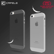 CAFELE Original Brand Phone Cases For iPhone 5 5s SE Fashion Candy Color Frosted Cell Phone Case For iPhone 5s case Back Cover(China)
