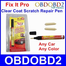 5pcs/lot SIMONIZ Fix It Pro Car Scratch Repair Tool Car Painting Pen Clear Filler Sealer Remover On Any Car Any Color Retail Box