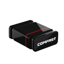 20PCS Comfast 150Mbps adaptador wi-fi receptor wifi usb wi-fi adapter wifi access point RTL8188EU chipset wifi dongle BLACK(China)