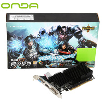 Onda  GT710 1GD3 Sound-Free Graphics Card  GDDR5  with 192 stream processor Support high definition video with HDMI DVI VGA