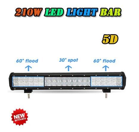 210W high power fish eye LED Light Bar Light Bar  Combo Beam LED Light Bar Offroad 4x4 Van Truck Trailer Camper free shipping<br><br>Aliexpress