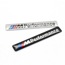 10pcs/set Car-Styling Motosport M Power Performance Logo Decal Sticker Emblem for BMW e30 e46 e60 e90 e92 f10 f20 Accessories(China)