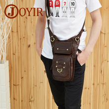 2017 Genuine leather men fashionable leisure men's single shoulder bag inclined shoulder bag first layer cowhide new men's bags(China)
