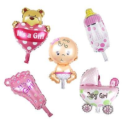 Mini Baby Shower Foil Balloons [ 100 Pieces Lot ] 4