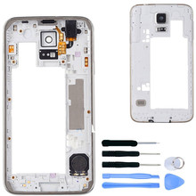 Buy Replacement Middle Frame Samsung Galaxy S5 G900F G900H i9600 Plate Bezel Housing Middle+Tools, Free Shipping&Tracking Number for $8.14 in AliExpress store