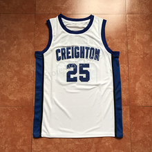 #25 Kyle Korver Creighton Bluejays College Throwback Basketball Jersey Stitched any Number and name(China)