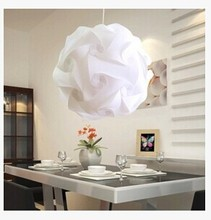 42MM 35MM 30MM Modern DIY Pendant light PVC Ball, E27 lamp holder Suspension Light Pendant Lamp light