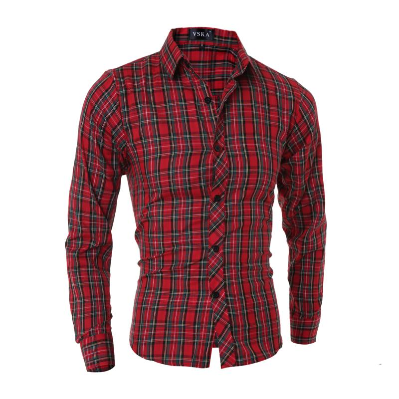 Compare Prices on Cotton Checked Shirts- Online Shopping/Buy Low ...