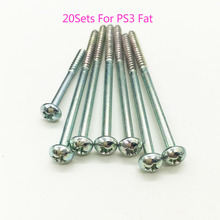 20sets for Sony Playstation 3 PS3 Fat CECHA01 CECHE01 PHAT Console Housing Shell Screws Set Philips Cross(China)