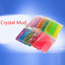 Crystalmud slime for kids crystal mud gift hand-made color clay plasticine magic playdough slime kids sand polymer clay