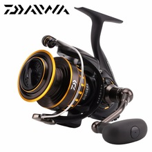 DAIWA BG 1500-8000 Spinning Fishing Reel Max Drag 2kg-15kg 6+1BB ATD Metal wire Body Saltwater Air Rotor Sea fishing Reel