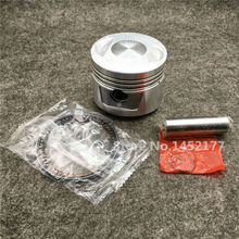1 Set CG150/CG175 Motorcycle Piston Kit Refit Accessories Motorbike Piston Pin+Motor Bicycle Piston Ring Scooter Engine Parts