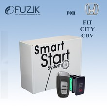 Engine Start Stop System PKE Keyless Entry Keyless Go Push Start RFID Keyless Go SmartKey for For Honda City Fit 3th CRV