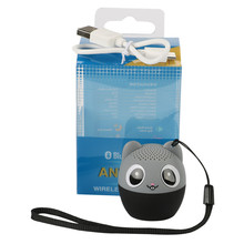 New Wireless Bluetooth  Cute Animal panda dog Sound Speaker Portable Clear Voice Audio Player  TF Card USB Ifor Mobile PC