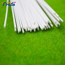 100pcs 2mm ABS round plastic tube scale model building material