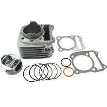 High Quality Motorcycle Engine Parts For Suzuki QM200 GS200 QM200GY Cylinder Block & Piston Kit & Gasket NEW